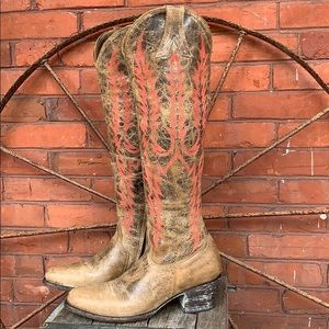 OLD GRINGO MAYRA RARE Color Tall Knee High Boots